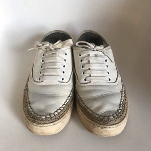 Alexander wang white sneakers
